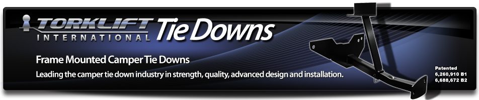 banner tiedowns