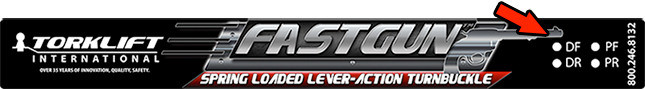 fastgun sticker sm