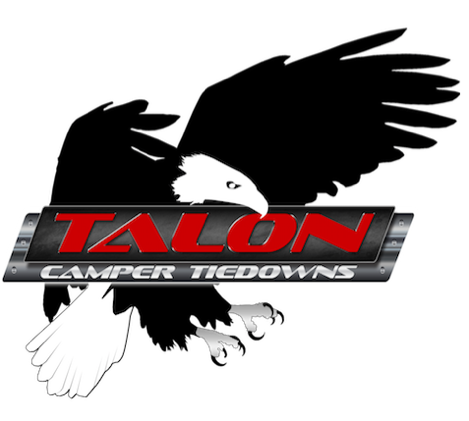 Talon camper tie downs