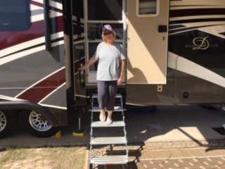 GlowStep Revolution RV Steps 2