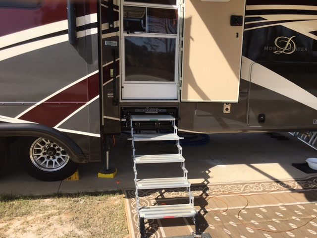 GlowStep Revolution RV Steps 4