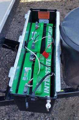 RV battery Box