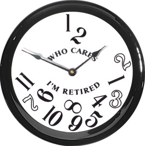 retired-clock
