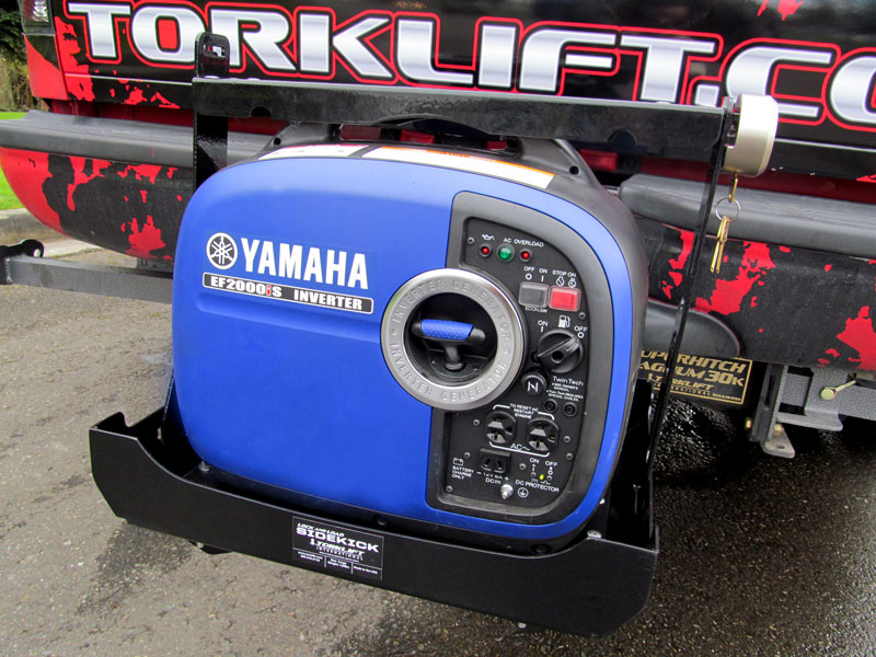 Two convenient ways to mount a generator when camping - Blog