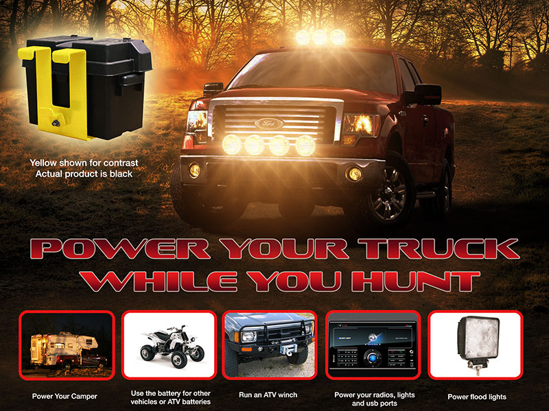 POWER YOUR TRUCK WHILE YOU HUNT