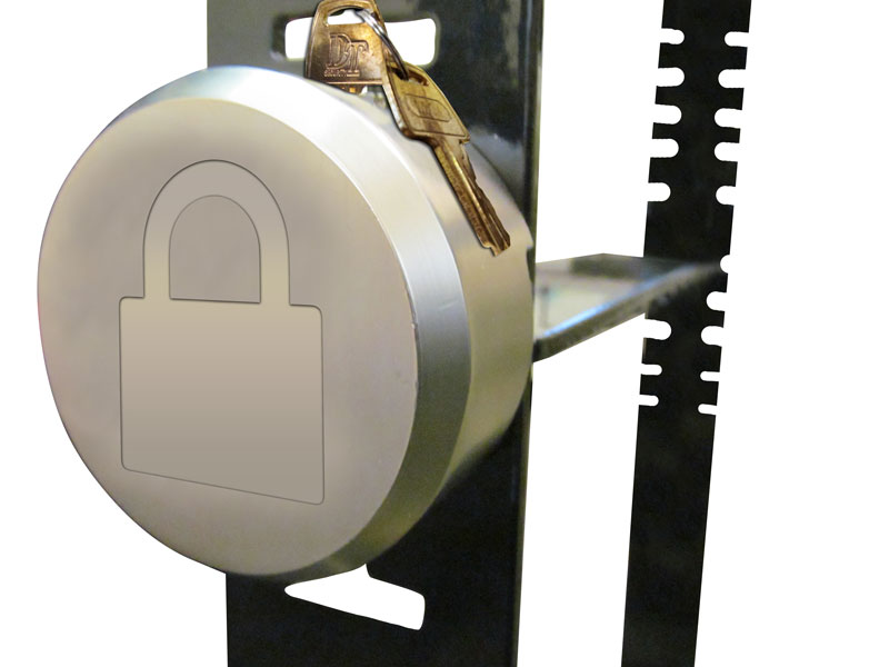 HIGH SECURITY TAMPER PROOF PUCK LOCK INCLUDED